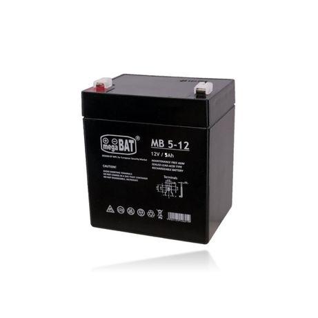 Bateria 12V 5AH MB 5-12 AGM VRLA Megabat Ultracell Alarme UPS