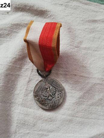 z24 medal PRL 1984 Walka Praca Socjalizm