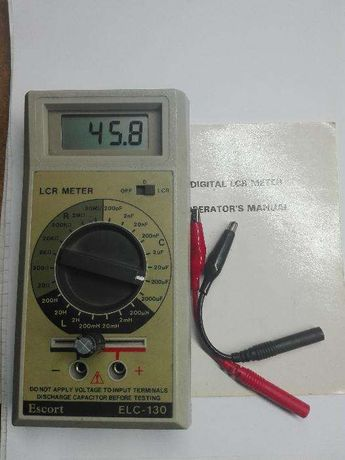 Multimetro Medidor RLC Escort ELC 130