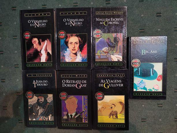 Lote 7 livros Autores Clássicos - Coleção Visão