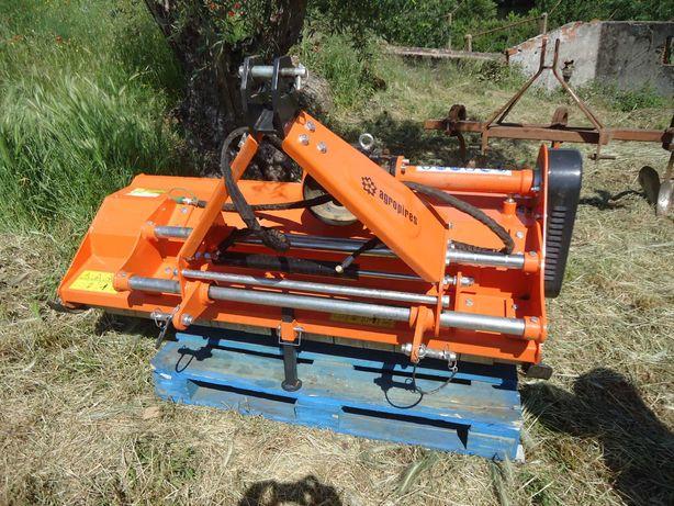 Triturador de martelos, 1,55 de corte