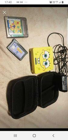 Nintendo gameboy  advence sp spongebob