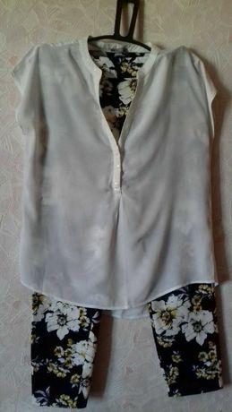 Продам костюм брюки с блузкой