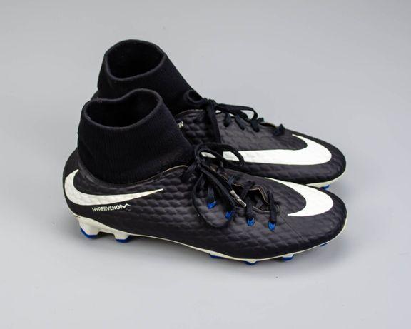 Фирменные бутсы с носком Nike Hypervenom Phelon lll(41 размер)Adidas