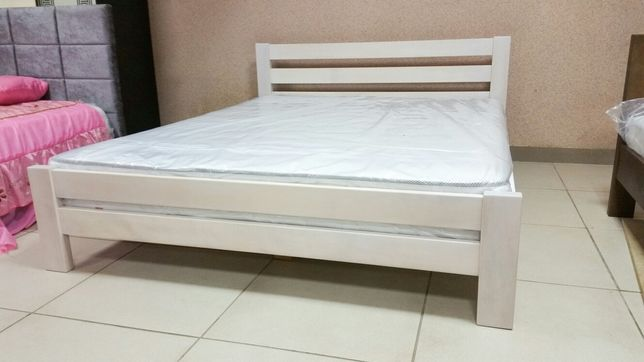 Кровать из дерева Ліжко з масиву