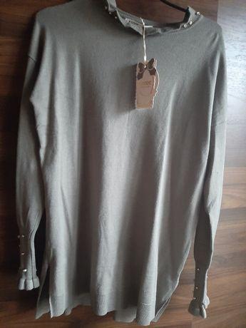 NOWA bluzeczka kolor khaki
