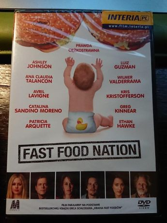 Fast Food Nation na dvd