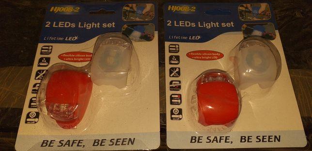 Oświetlenie rowerowe, lampki
