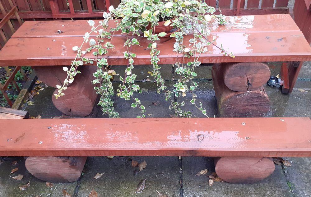 Stolik i ławeczka ogrodowa Kielce - image 1