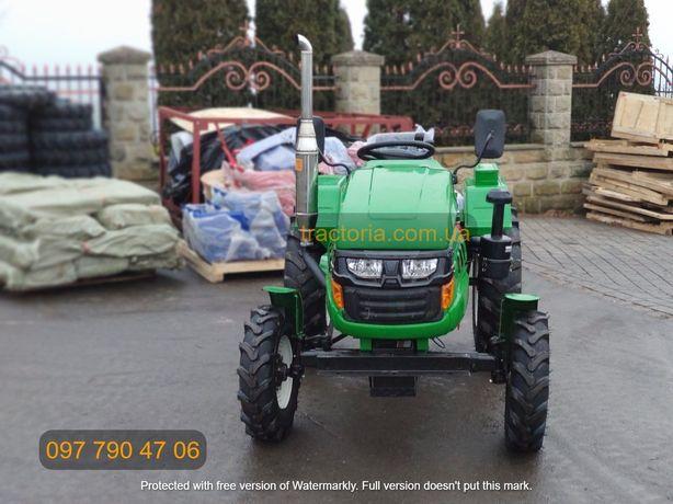 Трактор Булат Т-245 XL+ФРЕЗА+Кардан+ВОМ Минитрактор мінітрактор Зубр