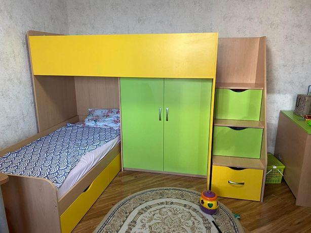 МЕБЕЛЬ детская/подростковая спальня шкаф комод кровать