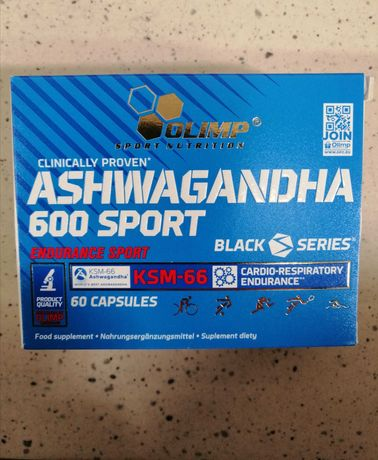 Olimp Ashwagandha 600 Sport 60 kapsułek