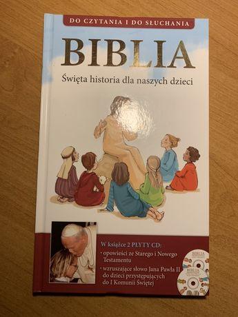 Biblia dla dziecka z CD