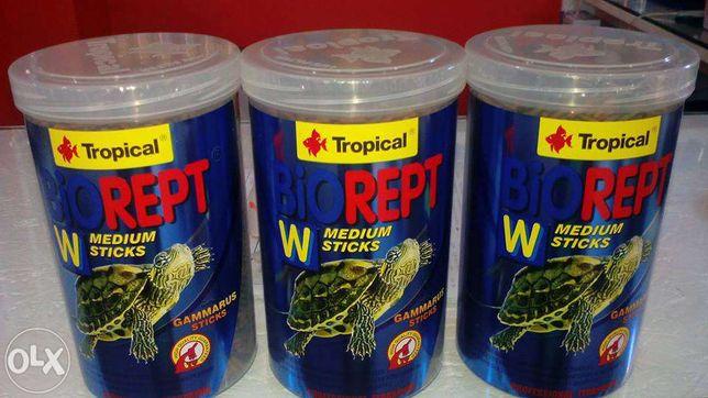 Biorept granulado para tartarugas