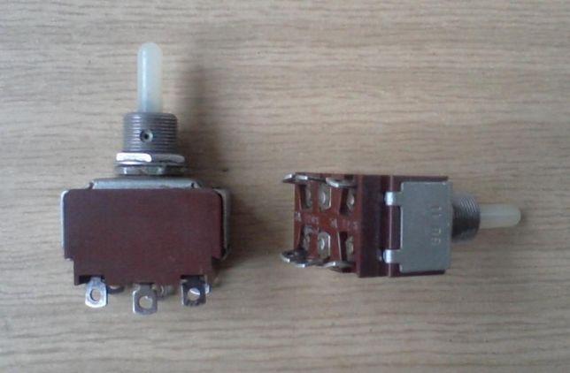 Тумблер 3А 220В / 5А 127 В переключатель