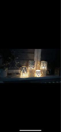 Lampiony makrama