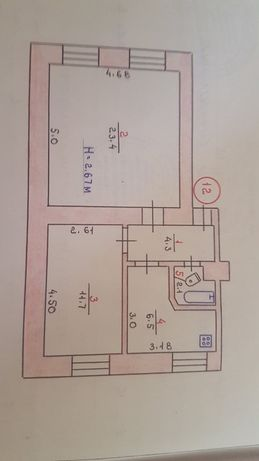 Продажа квартиры в Цент-гор Гданцевка 2К