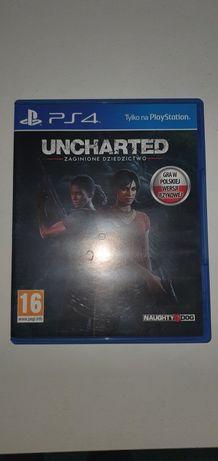Uncharted zaginione dziedzictwo pl dubbing ps4 playstation4