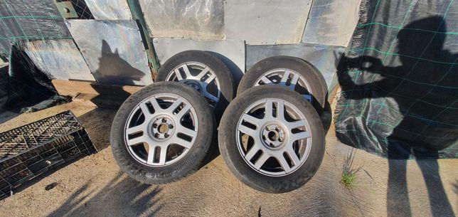 Jantes 16 5x100 originais com pneus novos 205/55R16