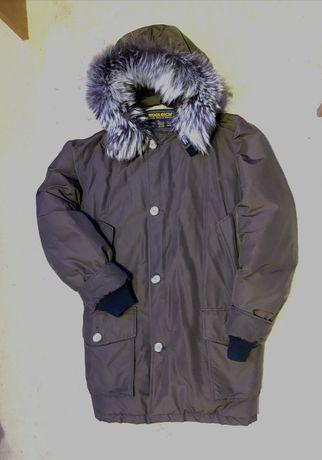 Куртка Woolrich зимняя парка как canada goose moncler napapijri