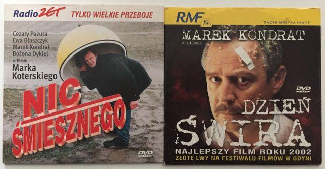 """DVD Zestaw """"Dzień Świra"""" + """"Nic Śmiesznego"""" Rezyseria: M.Koterski"""