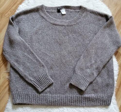 Sweter H&m, krótki, rozmiar 34