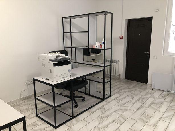 Мебель Лофт под заказ, стеллаж лофт, стол офисный лофт