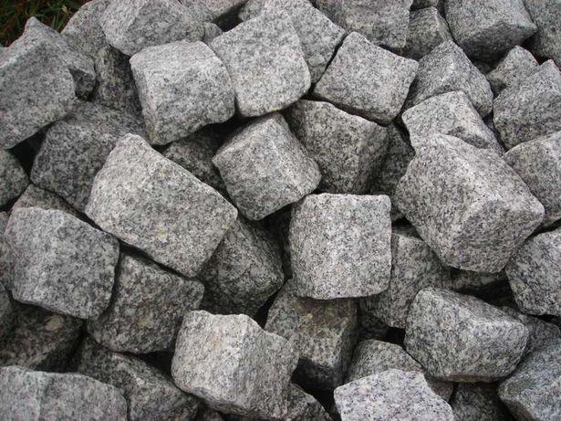 kostka granitowa 1gatunek brukowa granit obrzeża palisada kamień grys