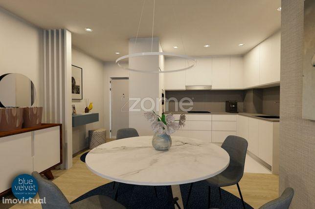 Apartamento T2 NOVO c/105 m2 na Qta. da Naia em Ferreiros, Braga!