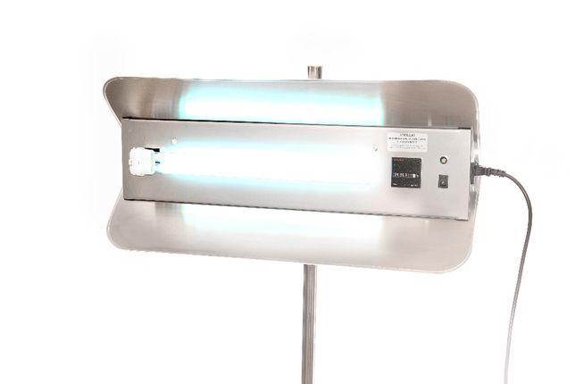 Lampa biobójcza bakteriobójcza wirusobójcza UV-C UVC stal nierdzewna