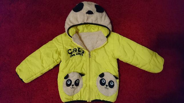 Куртка весняна демісезонна до 4-х років курточка демисезонная