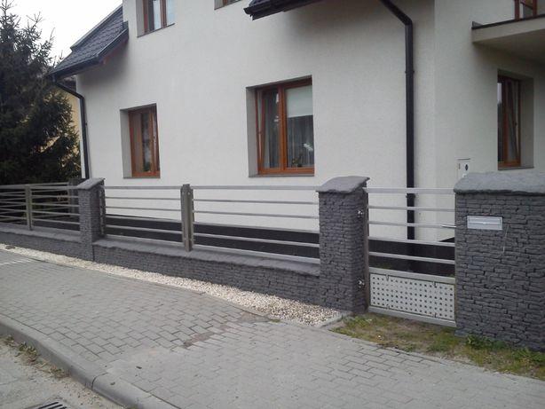 Balustrady , ogrodzenia, konstrukcje NIERDZEWNE
