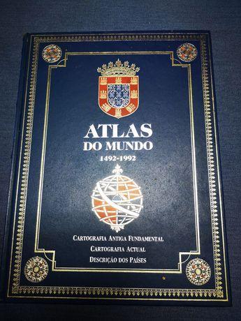 Livro Atlas do Mundo 1492 a 1992