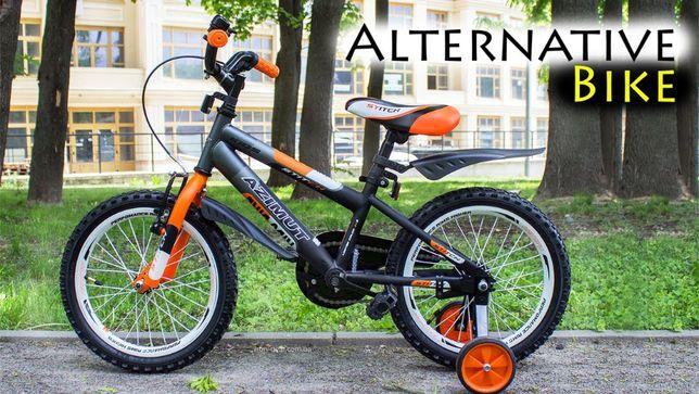 Детский велосипед ровер AZIMUT Stitch 12, 14, 16, 18, 20 дюймов