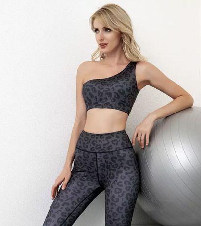 Спортивный костюм для бега, комплект для йоги, одежда для спортзала