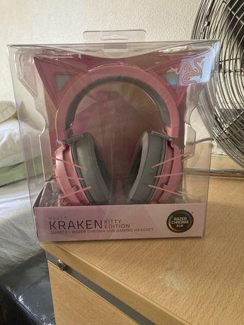 Razer Kraken Kitty Edition Quartz Headset Selados
