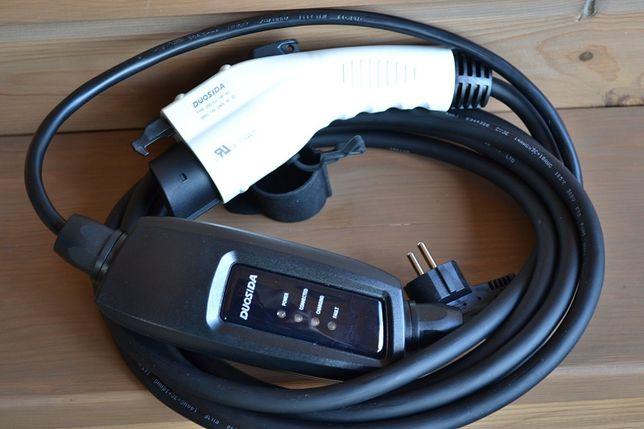Зарядка DUOSIDA type 1, J1772, EVSE для Volt, Leaf, Tesla, Smart