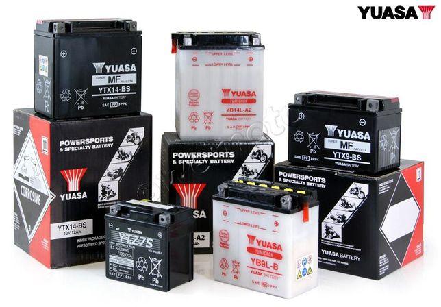 Мото Аккумуляторы Yuasa Motobatt Exide Bosch Varta АКБ Мотоцикл Скутер