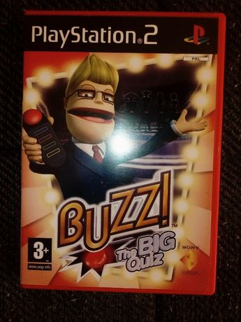 Gra playstation 2 Buzz the big quiz