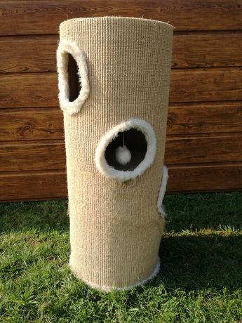 Drapak dla kota tuba wysoki 100cm 4 poziomy legowisko