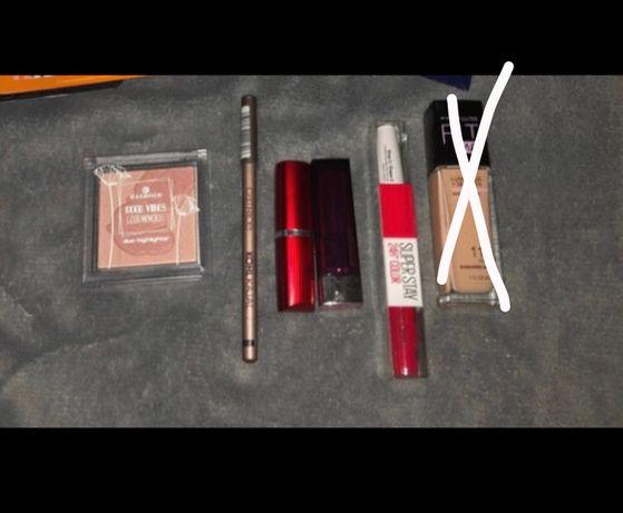 Zestaw nowych kosmetyków
