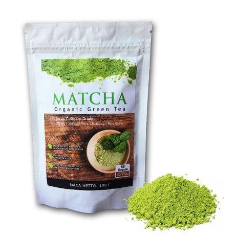 Матча чай - kitchen/culinary grade - 100г (маття,matcha)