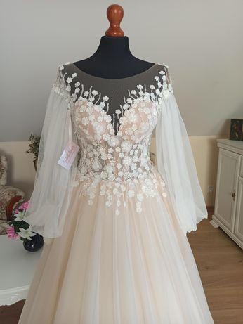Suknia ślubna Unikatowe suknie ślubne ADALINE