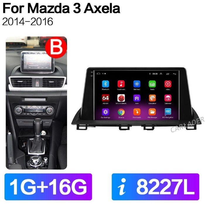Автомобильный Android 10 мультимедийный радио плеер для Mazda 3 Axela Одесса - изображение 1