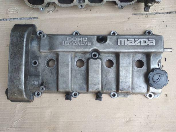 ГБЦ Головка двигателя Mazda 323f,626 1.8 bj  16v двигатель