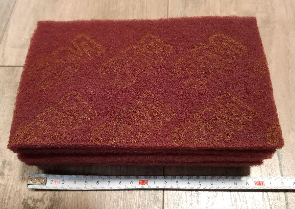 Скотч-брайт 3М пурпурный. 120х200 мм. 6 листов. Чернигов - изображение 1