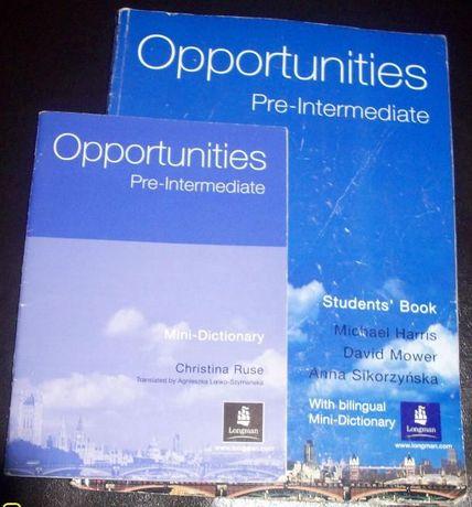 Opportunities Pre-intermediate; Harris, Mower, Sikorzyńska