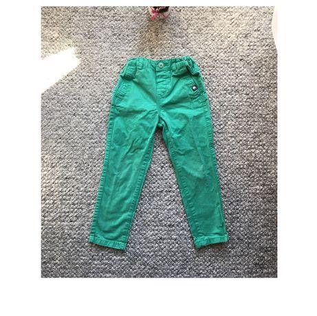 Spodnie 104 cm Reserved długie miętowe/jasnozielone