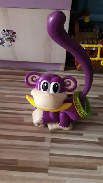 Uciekająca małpka
