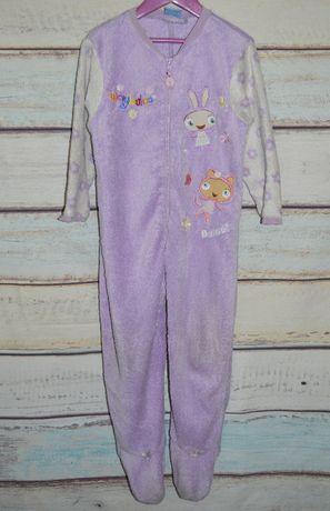 Теплый махровый слип, человечек, комбинезон, теплая, махровая, пижама,